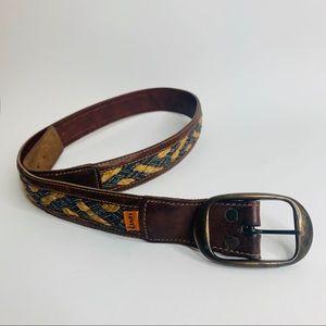 Authentic Levi's leather belt